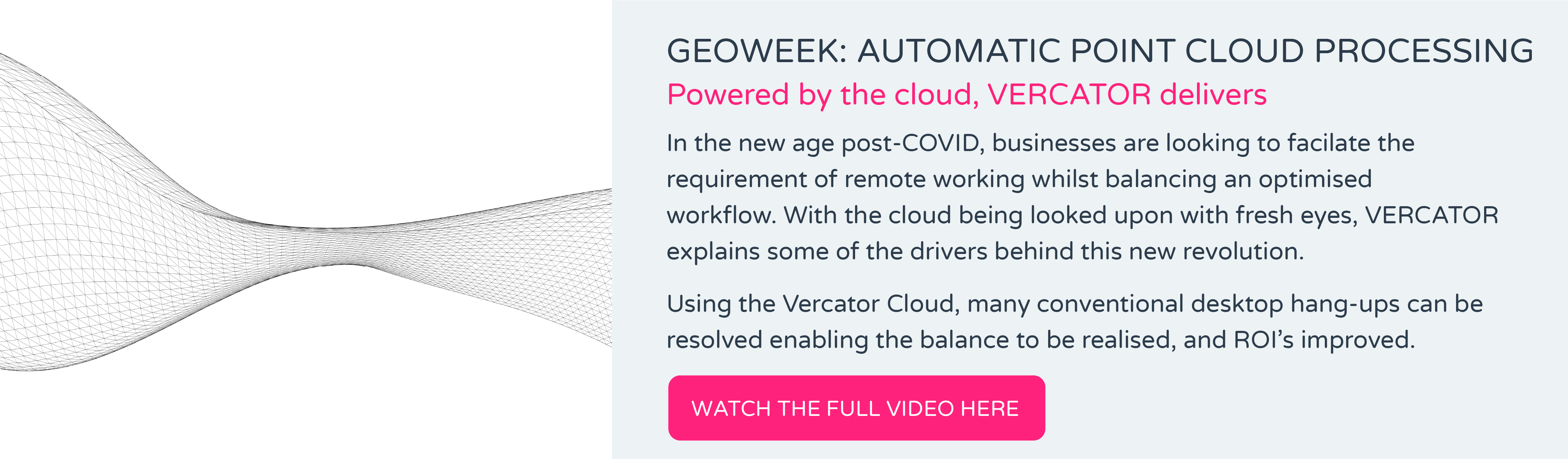 GEOWEEK: AUTOMATIC POINT CLOUD PROCESSING